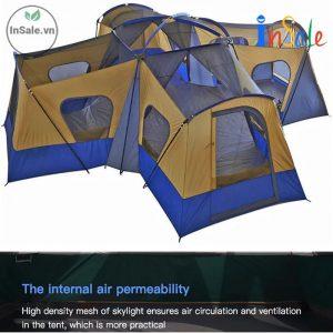 Lều cắm trại 4 phòng